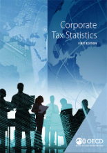 corporate tax statistics brochure cover