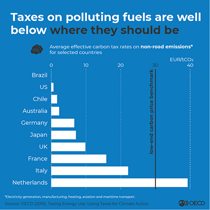 Taxing Energy Use - Polluting Fuels Infographic