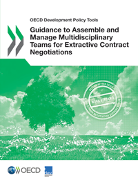 Cover page of the Guidance for Governments to Assemble and Manage Multidisciplinary Teams for Extractive Contract Negotiations