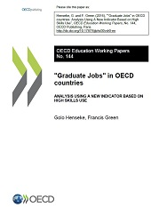 Cover page of the EDU Working Paper n°144