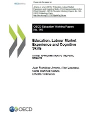 Cover page of the EDU Working Paper n°146