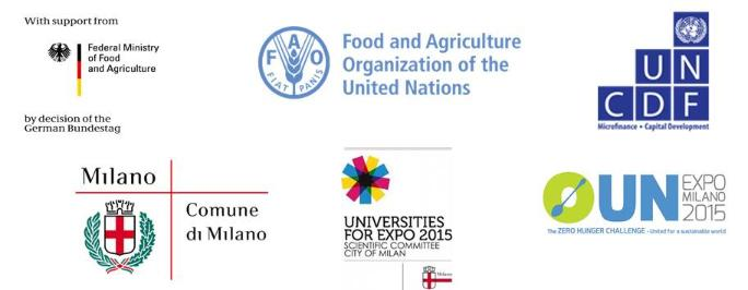 Logos: Milan expo Food security
