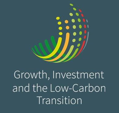 Logo Growth, Investment and the Low-Carbon Transition