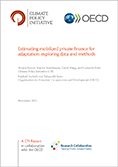 "RC cover page ""Estimating mobilized private finance for adaptation"""