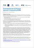 "RC cover page ""MDB Tracking Climate Co-Finance"""