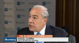 Video Bloomberg OECD's Gurria COP21