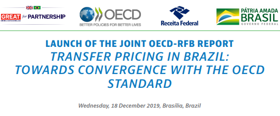 During this high-level event served to launch the joint OECD-RFB report Transfer Pricing in Brazil: Towards Convergence with the OECD Standard and to